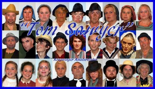 "Et stort persongalleri i ""Tom Sawyer""!"